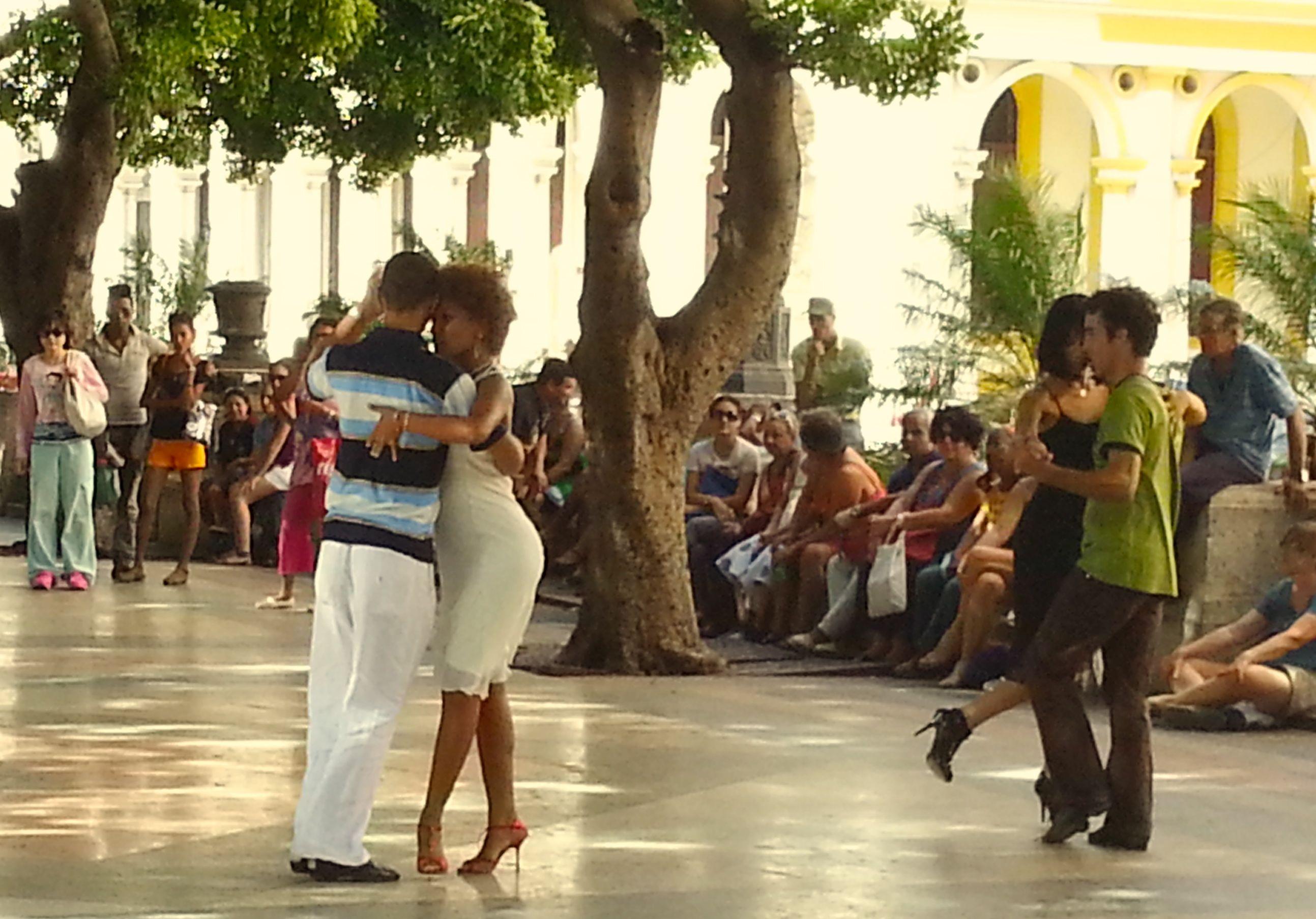 Tango auf dem Prado