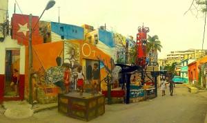 Callejón de Hamel en Centro Habana