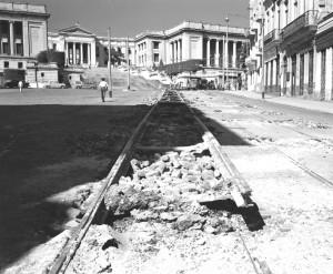 Rückbau der Straßenbahnen
