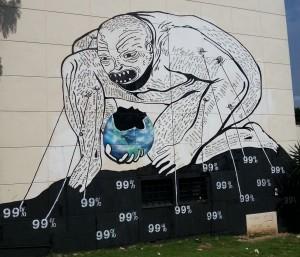 Wandbild zur Biennale 2012