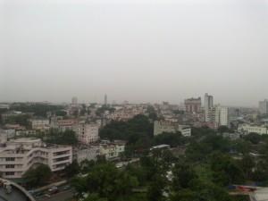 Havanna Vedado im Regen