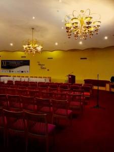 Das ehemalige Casino des Havana Riviera - jetzt ein Konferenzsaal