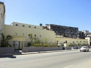 Der Platz des Shanghai-Theaters in Havanna ist jetzt leer.