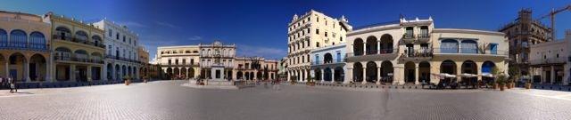 Plaza Vieja in Havanna Vieja