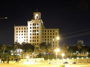Hotel Nacional bei Nacht