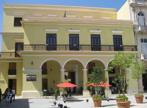 Das Santo Ángel am Plaza Vieja