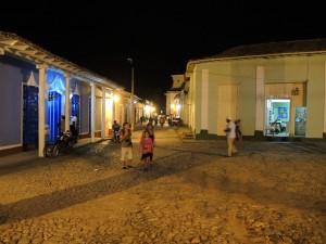 Trinidad, Kuba, bei Nacht