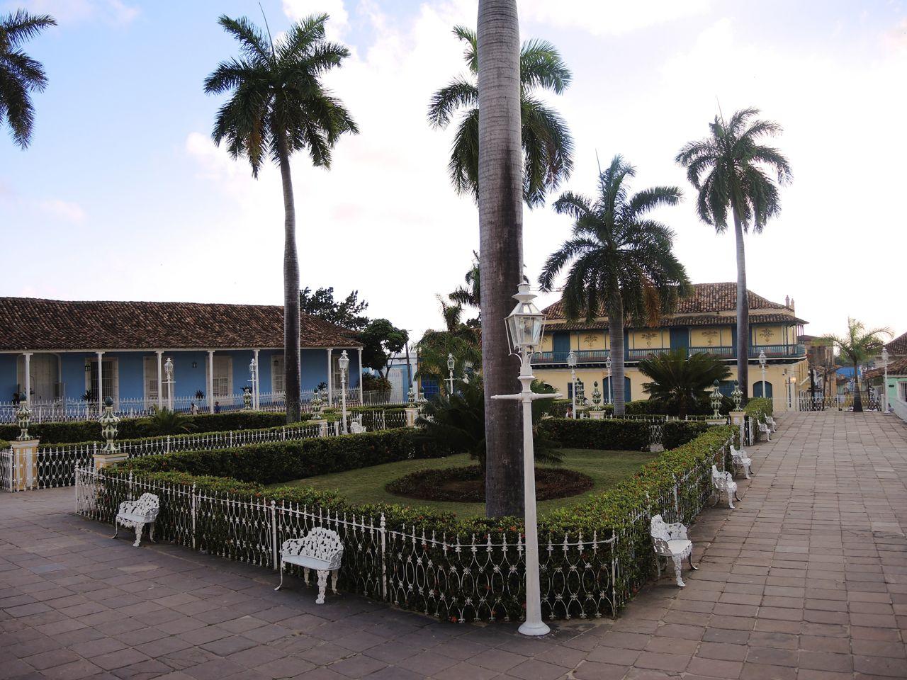 Plaza Mayor in trinidad (Kuba)