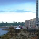 Hochzeit am Malecón