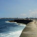 Tagsüber am Malecón