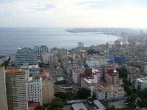 Malecón von oben