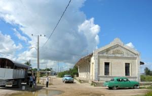 Bahnhof von Concha in Isabela de Sagua (Kuba)