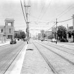 Calle Línea in Höhe der Calle L um 1950