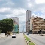 Calle Línea in Höhe der Calle L im Juni 2014