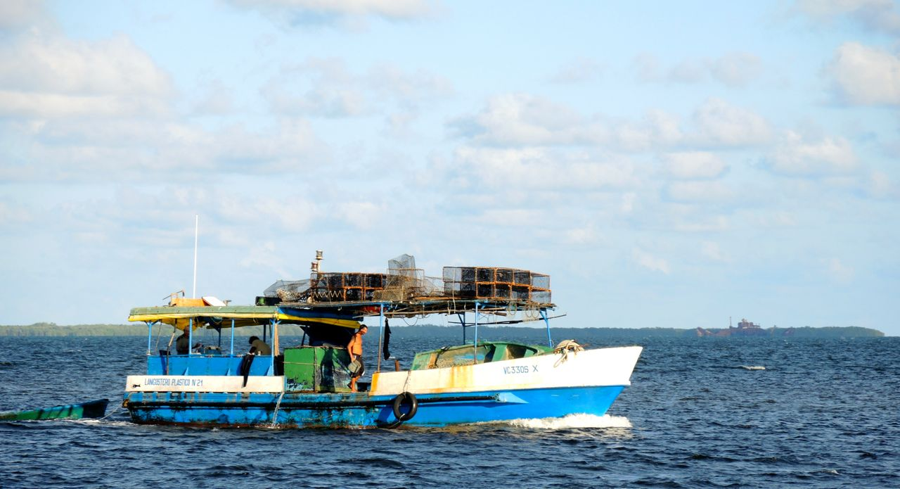 Hummerfischer auf Kuba