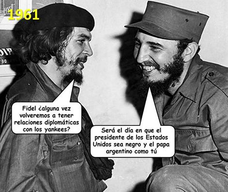 Ché, Fidel und die Beziehungen zu den Yankies