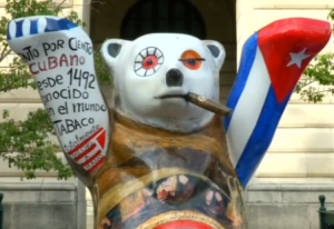 Kuba-Buddy-Bär in Havanna