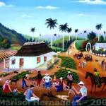 Marisol Hernandes: Peleando Gallos, 2005