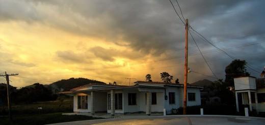 Sonne und Wolken, von Herta Hoffman fotografiert