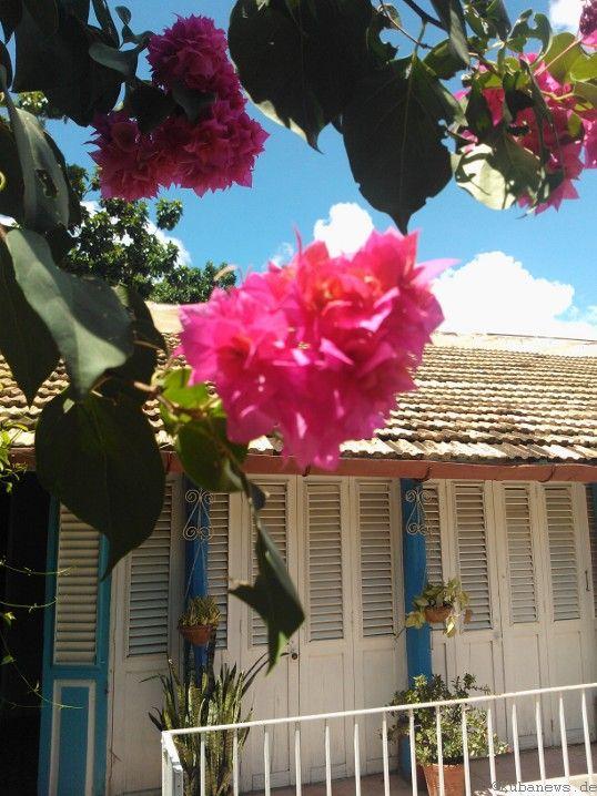 Bild: Eingang zu einer Casa Particular in Trinidad