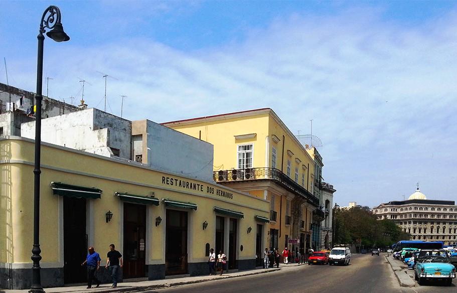 Bar und Restaurant Dos Hermanos, Havanna, Kuba
