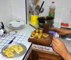 Chatinos: Banane quetschen