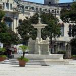 Der Löwenbrunnen in der Altstadt von Havanna