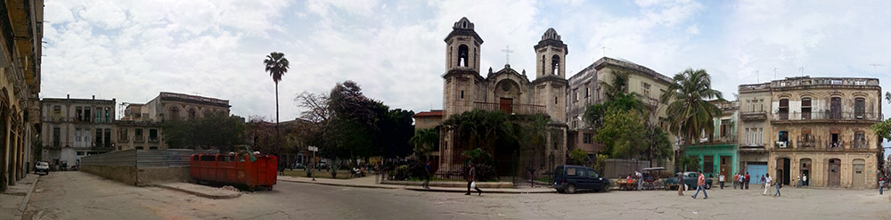 Plaza del Cristo in Havanna