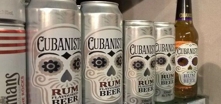 """Bild: """"Kubanisches"""" Bier im Flughafensupermarkt"""