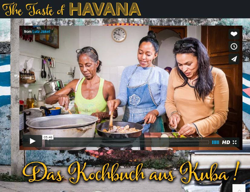 Kubanisch Kochen – jetzt müsst ihr ran! Also Pfannen und Töpfe rausgeholt und los geht's ;)