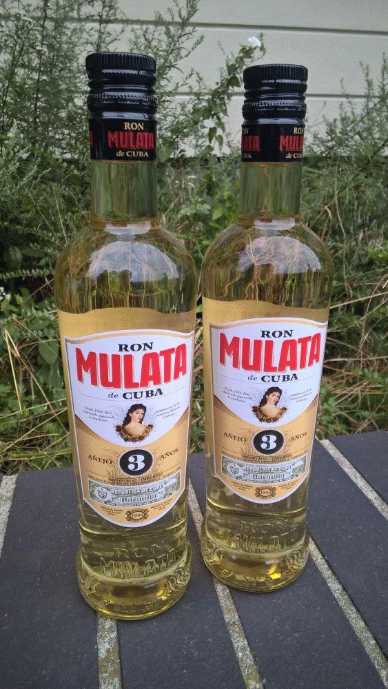 Foto von 2 Flaschen: Ron Mulata: besser als der omnipräsente Havana Club