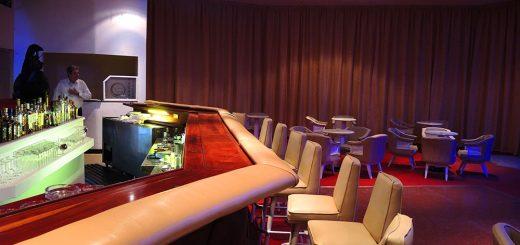 Die Bar wurde auch erneuert.