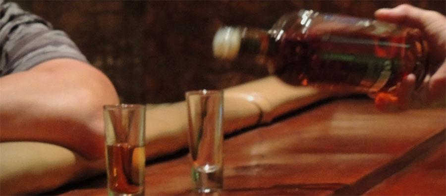 Rum eingießen