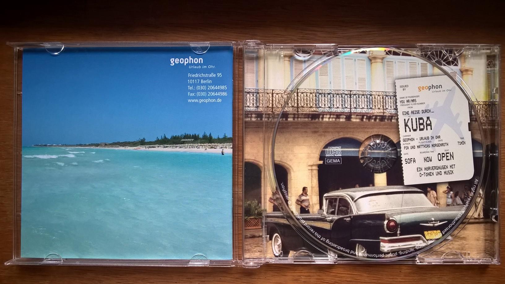 Foto: Innenansicht der CD