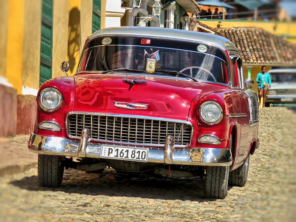 Foto: Oldtimer in Trinidad