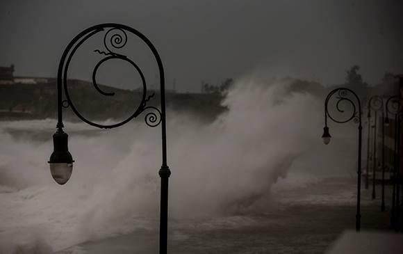 Hurrikan Irma, Malecon, Havanna, Kuba
