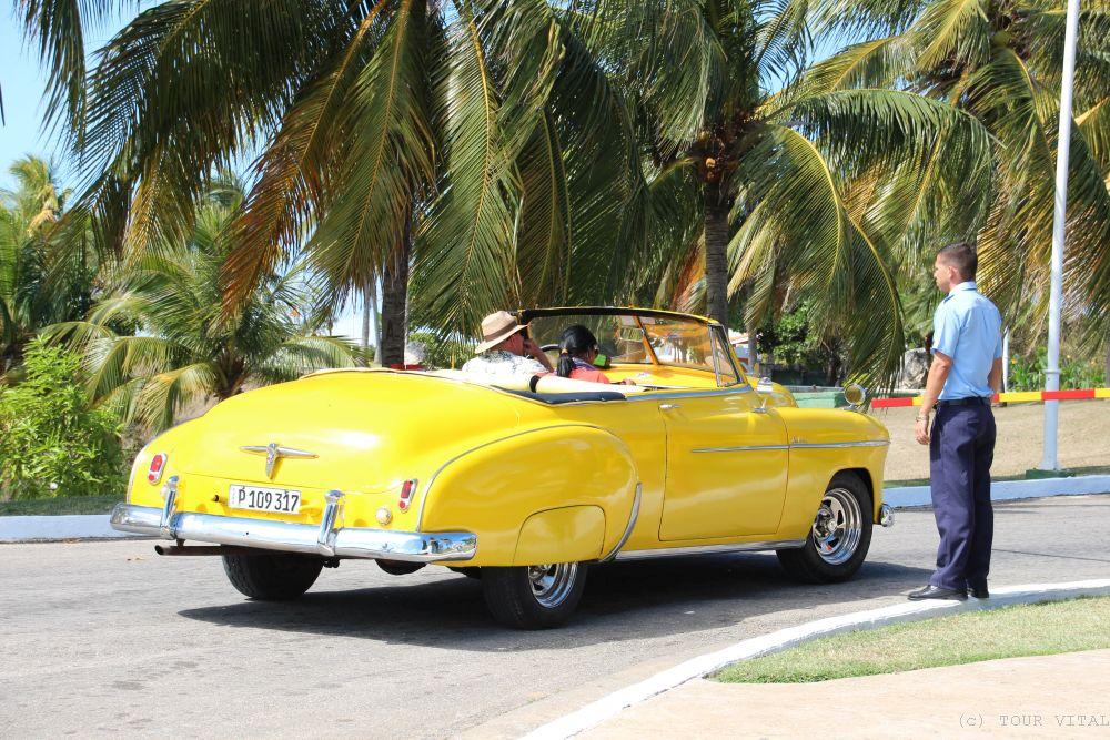 Oldtimer-Cabriolet - Bild: TOUR VITAL