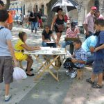 Kubanews: Kinder beim Malen auf dem Prado