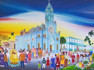 Kubanews: Ador a la Virgen de la C, Marisol Hernandes, 2012, Aberglauben und Religion