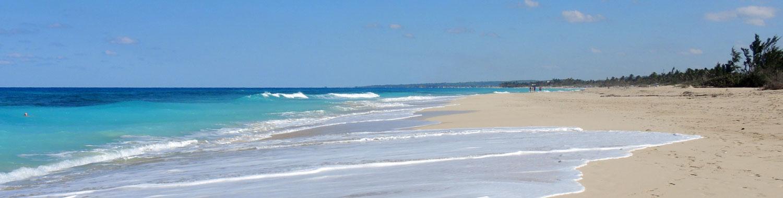 Kubanews: Playa del Este Strand Mégano