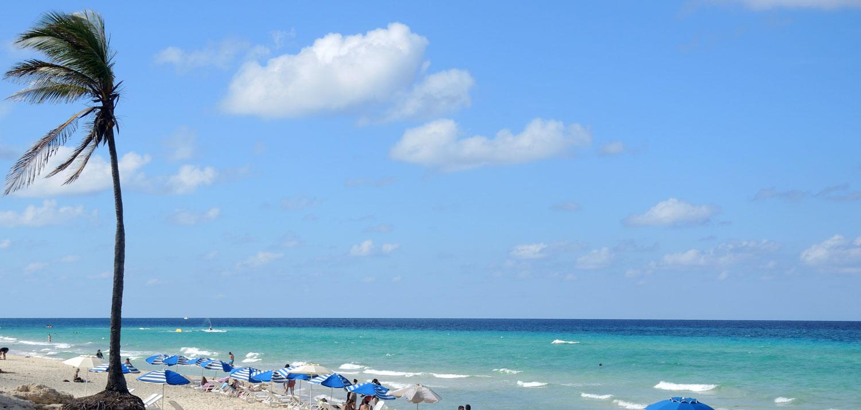 Kubanews: Playas del Este Strand am Hotel Atlántico