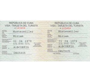 Kubanews: Touristenkarte