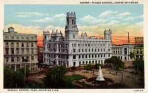 Kubanews: Parque Central historische Postkarte