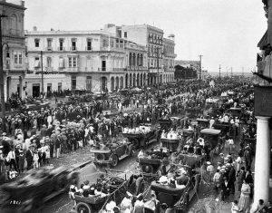 Kubanews: Carnaval auf dem Paseo del Prado, 1935