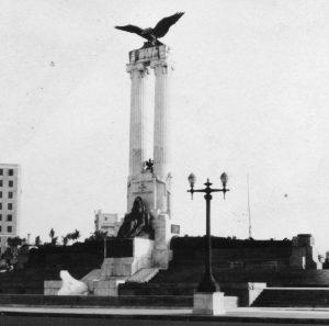 Kubanews: Maine Monument um 1930