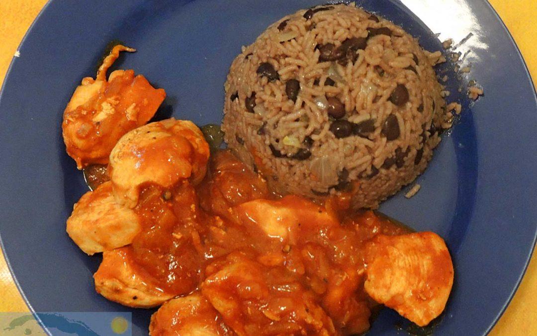 Kubanische Köstlichkeiten: Congrí kochen