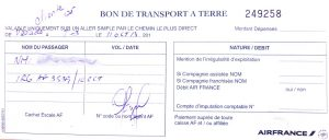 Kubanews: Taxi-Voucher von Air France