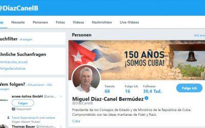 Kubas Präsident twittert jetzt