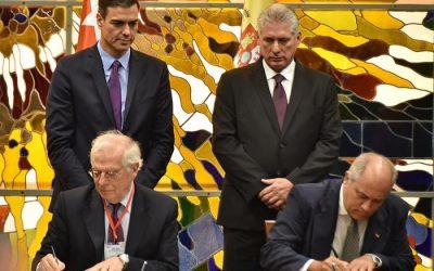 Ministerpräsident von Spanien besuchte Kuba