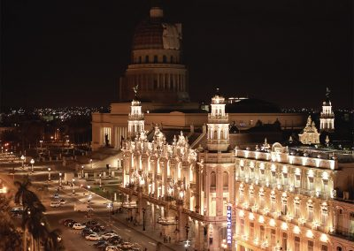 Gran Teatro nachts